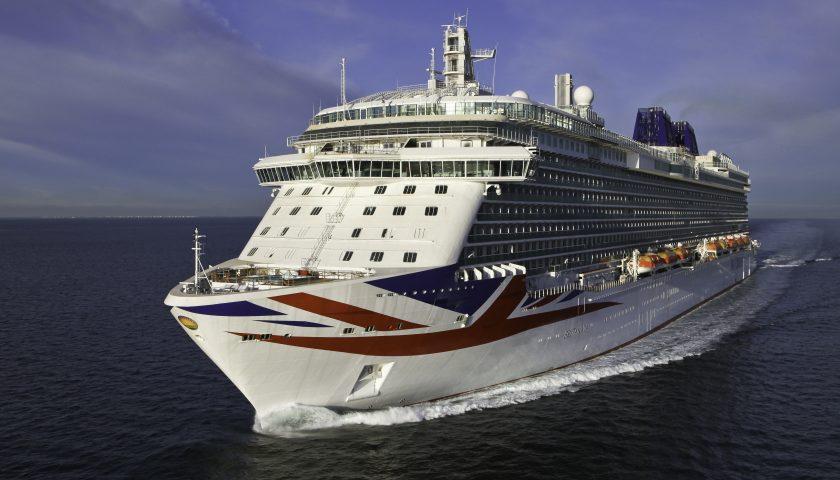 Britannia. Image: P&O Cruises