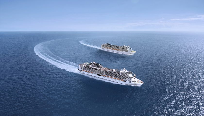 MSC Bellissima and MSC Grandiosa. Image: MSC Cruises