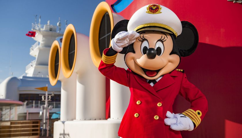 Captain Minnie Mouse. Image: Matt Stroshane