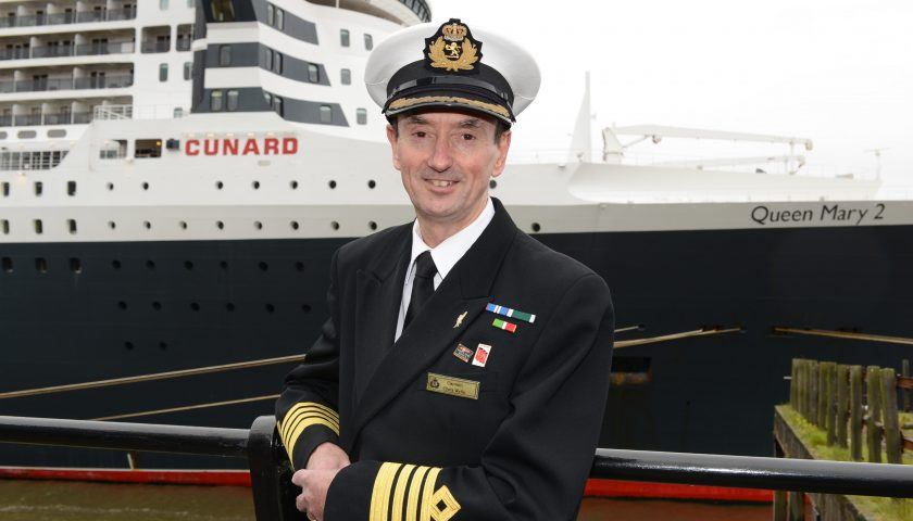 Commodore Wells. Image: Cunard