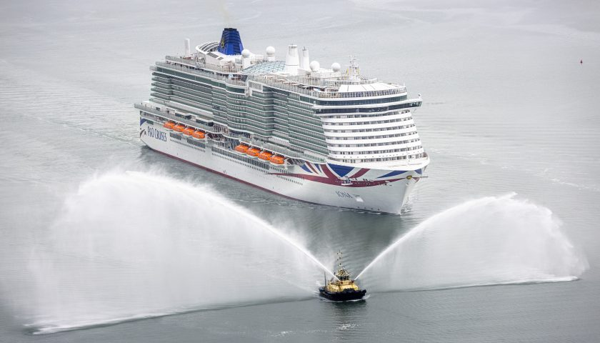 Iona: Picture by Christopher Ison/P&O Cruises
